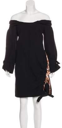 Christian Dior Silk & Wool-Blend Dress