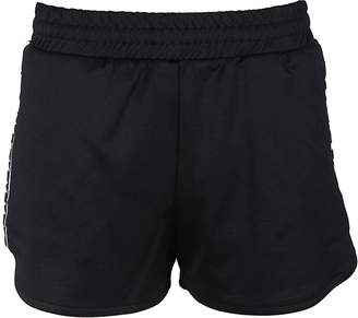 MSGM Diadora Ribbed Elastic Shorts