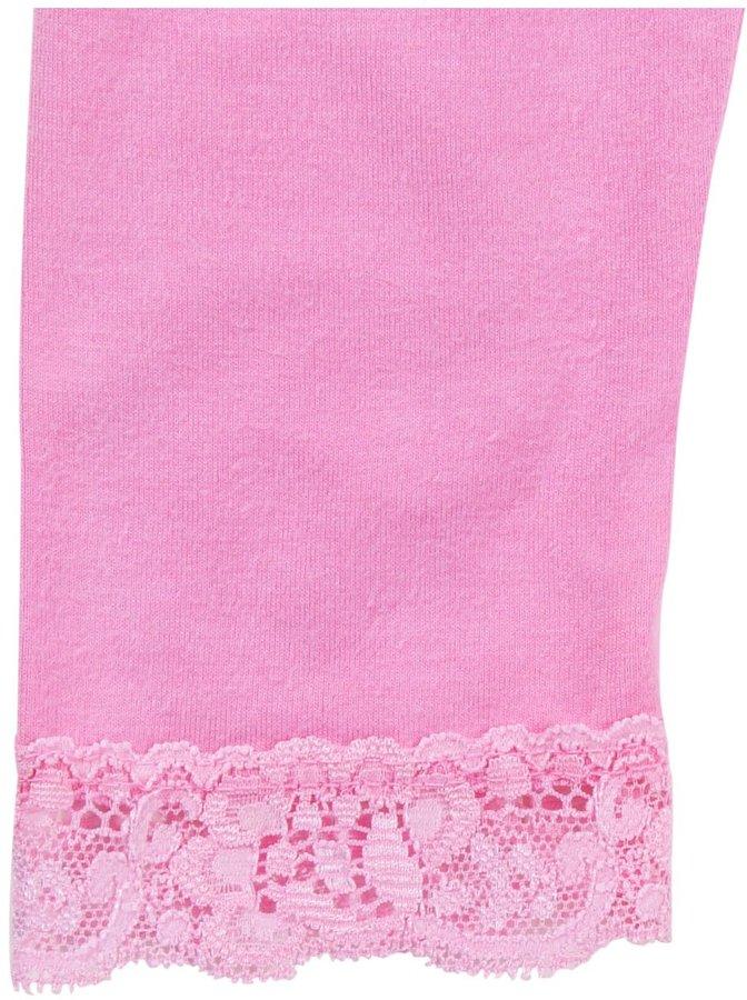 Erge Lace Legging - Pink-12 Months
