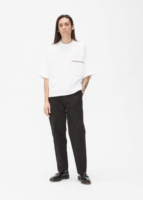 Thom Browne Oversized Jersey Pocket Tee