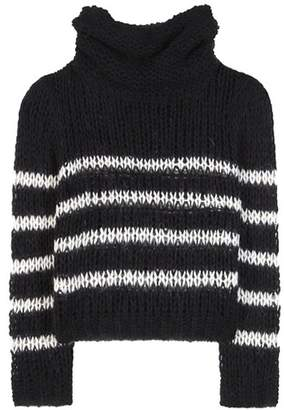 Saint Laurent Wool and mohair-blend sweater