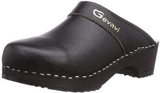 Dakota Gevavi Women's HERENMUIL ZWART Clogs Black Size:
