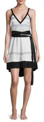 Proenza Schouler Belted Cover-Up Sundress