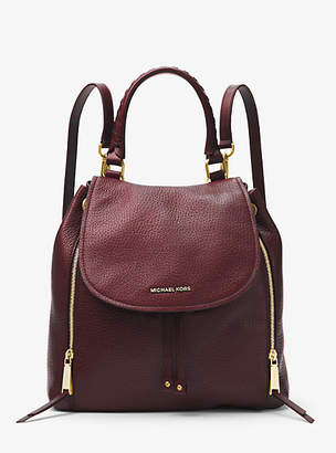 Michael Kors Viv Large Leather Backpack