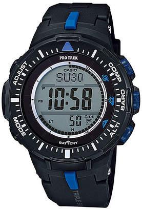 Casio Pro Trek Tough Solar Triple Sensor Mens World Time Watch PRG300-1A2CR