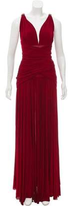 Plein Sud Jeans Ruched Evening Dress