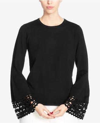 Catherine Malandrino Cutout Bell-Sleeve Sweater