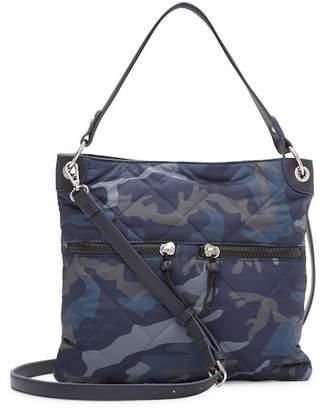 Sondra Roberts Quilted Nylon Crossbody Bag