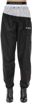 Natasha Zinko Cotton & Nylon Track Pants