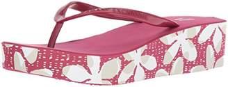 Armani Exchange A|X Women's Flip Flops Wedge Sandal