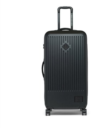 Herschel Supply Company Ltd FOUR-WHEEL TRADE LARGE HARD SHELL LUGGAGE - BLACK