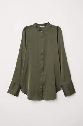H&M Satin Blouse - Green