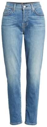 7 For All Mankind Josefina Crop Boyfriend Jeans