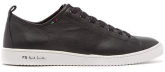 Paul Smith Miyata Leather Trainers - Mens - Black