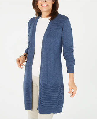 Karen Scott Duster Cardigan