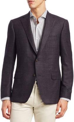 Saks Fifth Avenue BY SAMUELSOHN Classic-Fit Wool Sportcoat