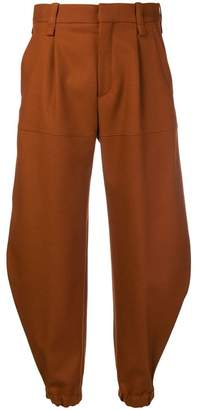 Chloé cropped tapered trousers