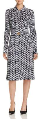 Tory Burch Crista T-Print Shirt Dress