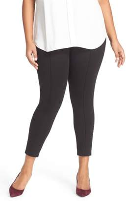 Sejour Seam Detail Crop Ponte Leggings