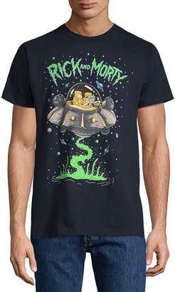 Novelty T-Shirts Rick Morty Space Graphic Tee