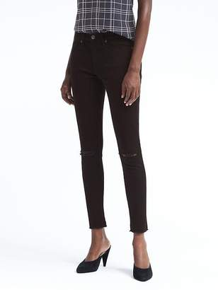 Banana Republic Petite Skinny Zero Gravity Stay Black Ankle Jean