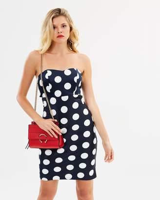 Bardot Sayer Tie Back Dress