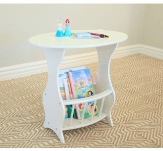 Home Craft Furniture Mega Home Magazine Table in White