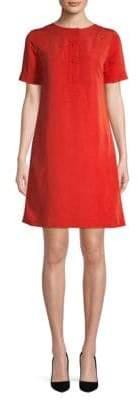 A.P.C. Short-Sleeve A-Line Dress