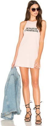 The Laundry Room Bonjour Champagne Tank Dress $88 thestylecure.com