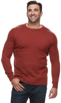 Croft & Barrow Big & Tall Classic-Fit 7GG Super Soft Crewneck Sweater