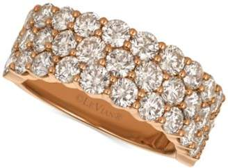 LeVian Le Vian® Strawberry & NudeTM Diamond Band (3-1/10 ct. t.w.) in 14k Gold or Rose Gold