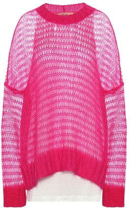 N°21 Mohair-blend sweater