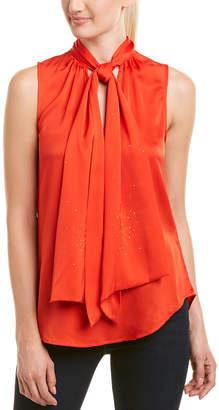 Trina Turk Malani Silk-Blend Top