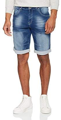 Mens CBE54 S7749277520 Boy Shorts, Blue, W38 Inside