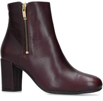 Carvela Leather Rail Ankle Boots 75