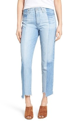 Women's Ag The Phoebe Vintage High Waist Straight Leg Jeans $325 thestylecure.com