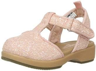 Osh Kosh Girls' Esmerelda Flexible Glitter Clog Sandal