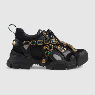 Gucci Flashtrek sneaker with removable crystals