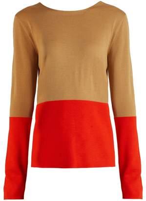 Marni Bi-colour wool sweater