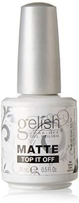 Gelish Soak Matte Top It Off Sealer Gel Nail Polish