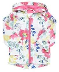 F&F Tropical Print Hooded Mac 9-12 months