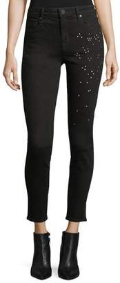 Parker Smith Ava Scattered-Stud Skinny Jeans