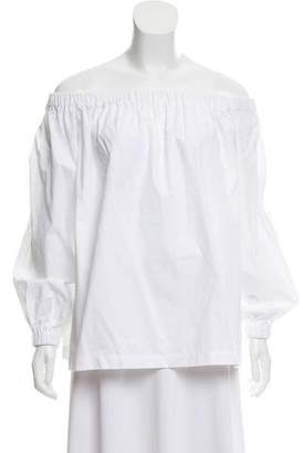 Paper London Off-The-Shoulder High-Low Top w/ Tags