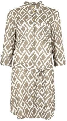 Heidi Klein Cote D'Azur Printed Shirt Dress