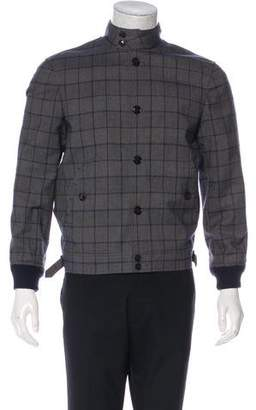 Todd Snyder Wool-Blend Check Jacket