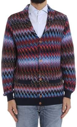 Missoni Cotton And Wool Cardigan