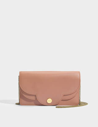 See by Chloe Polina Wallet on Chain in Cheek Lamb Skin