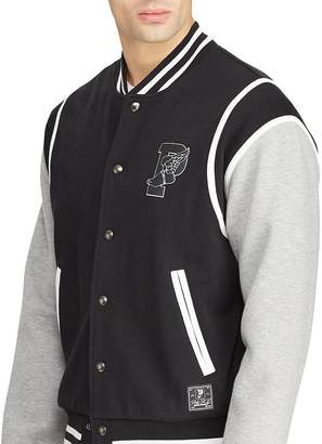 Polo Ralph Lauren P-Wing Double-Knit Baseball Jacket