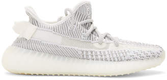 Yeezy Grey and White Boost 350 V2 Sneakers
