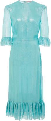 The Vampire's Wife M'O Exclusive Sparkle Chiffon Falconetti Dress